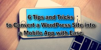 Convert a WordPress Site into a Mobile App