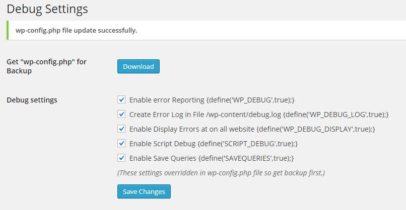 WordPress Debugging