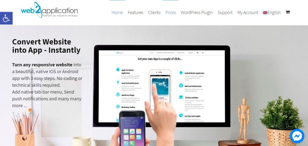 Convert a WordPress Site into a Mobile App