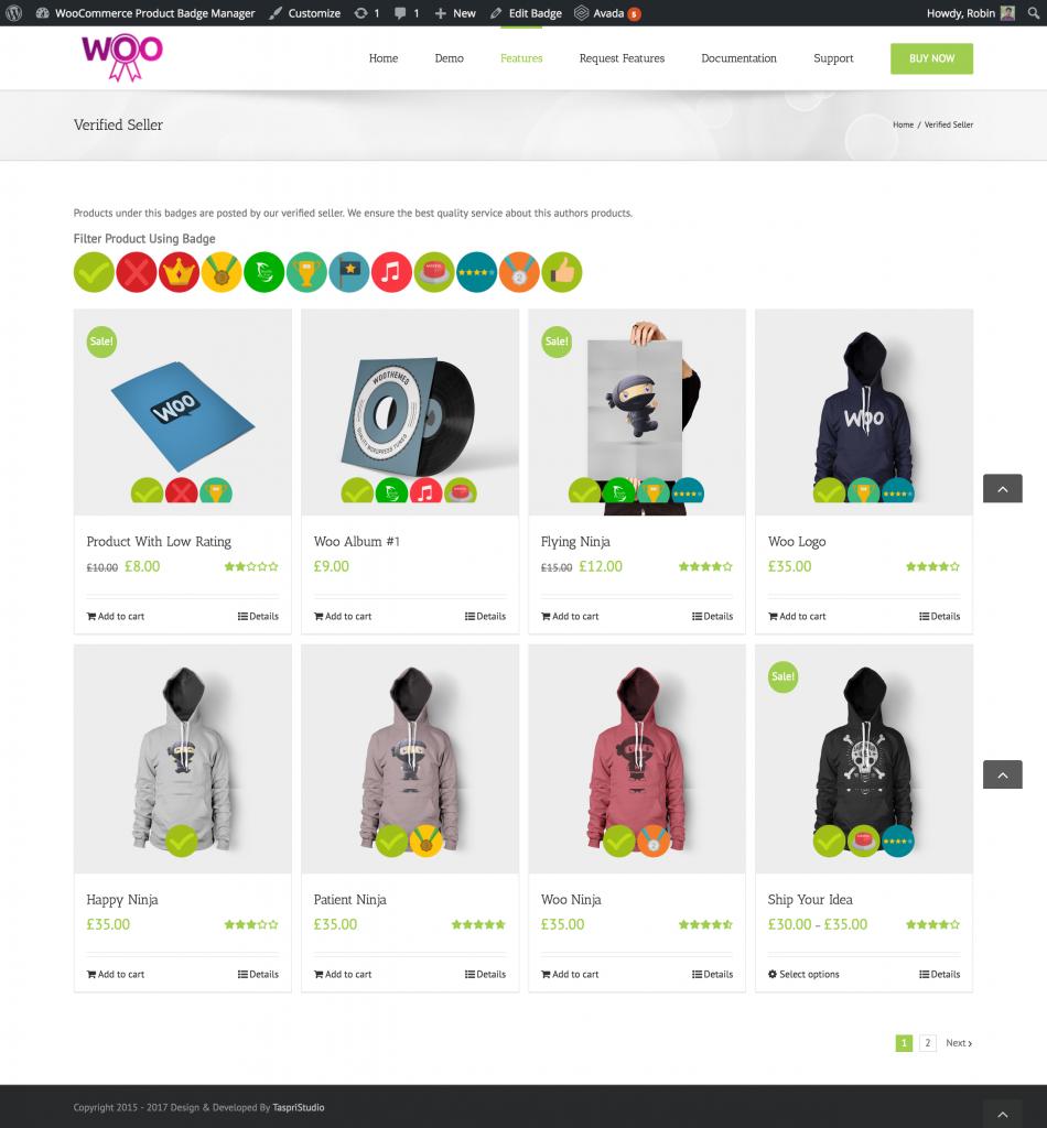 WooCommerce advanced product labels plugins