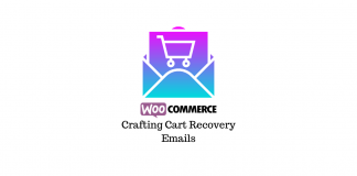 Crafting cart recovery emails