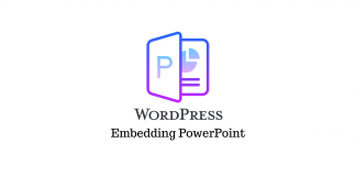 Embed PowerPoint Presentation WordPress