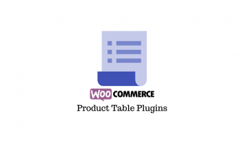 WooCommerce Product Tables Plugins
