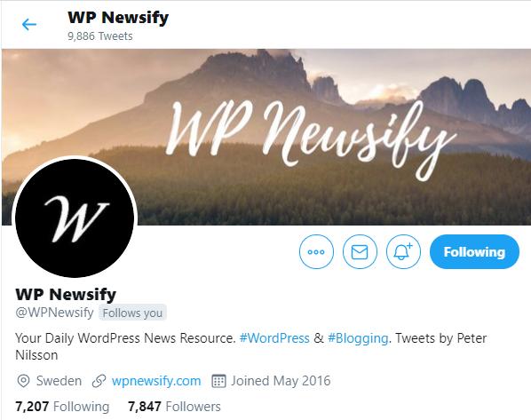 Twitter Accounts for WordPress WooCommerce