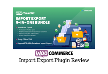 WooCommerce Import Export Suite
