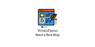 how to create a wordpress blog