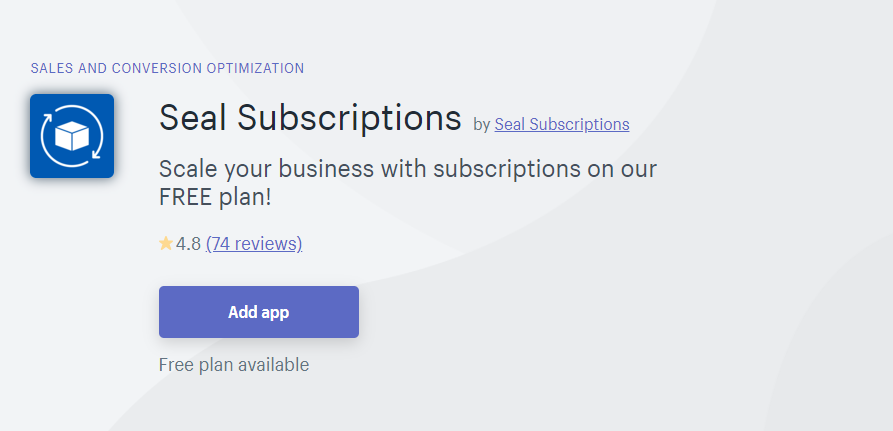 Shopify Subscription Apps