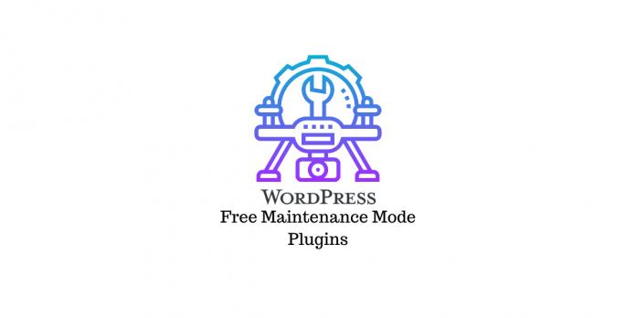 Free WordPress maintenance mode plugins