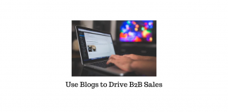 Blogs to Drive Sales