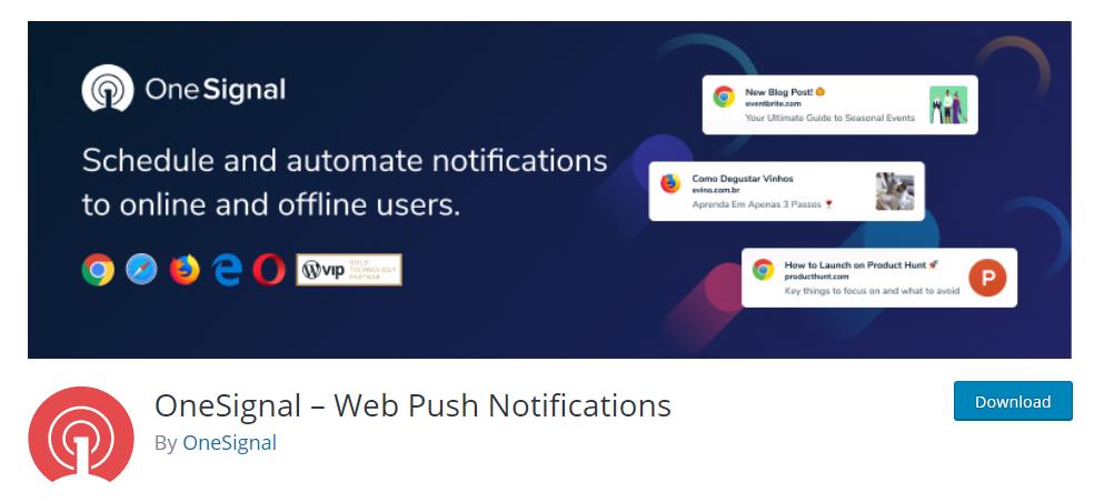 WordPress Push Notification Plugins