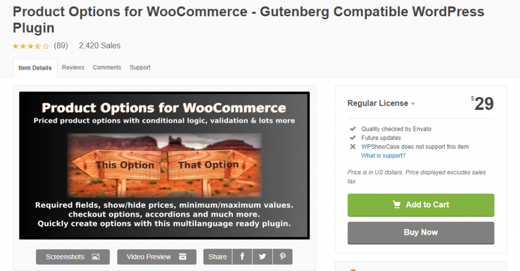 WooCommerce Product Add-Ons Plugins