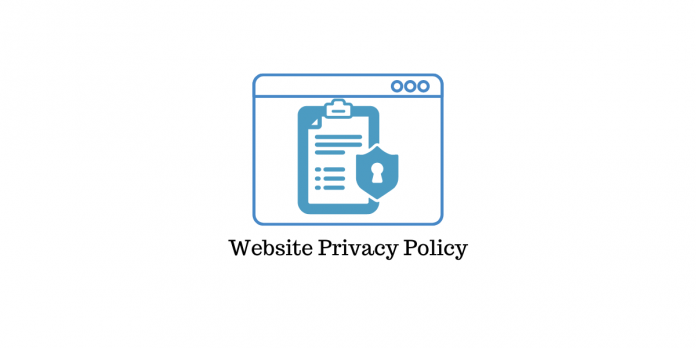 Write Website Policy