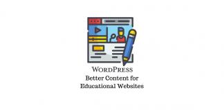 Educational Website With WordPress