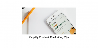 Shopify Content Marketing Tips