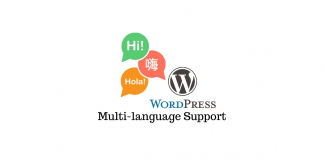 WordPress Multi-language Support