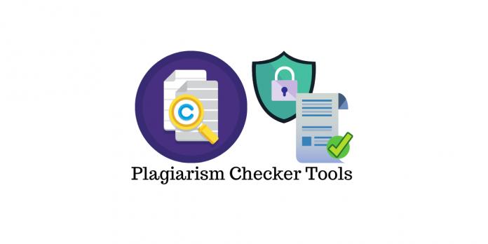 Plagiarism Checker Tools