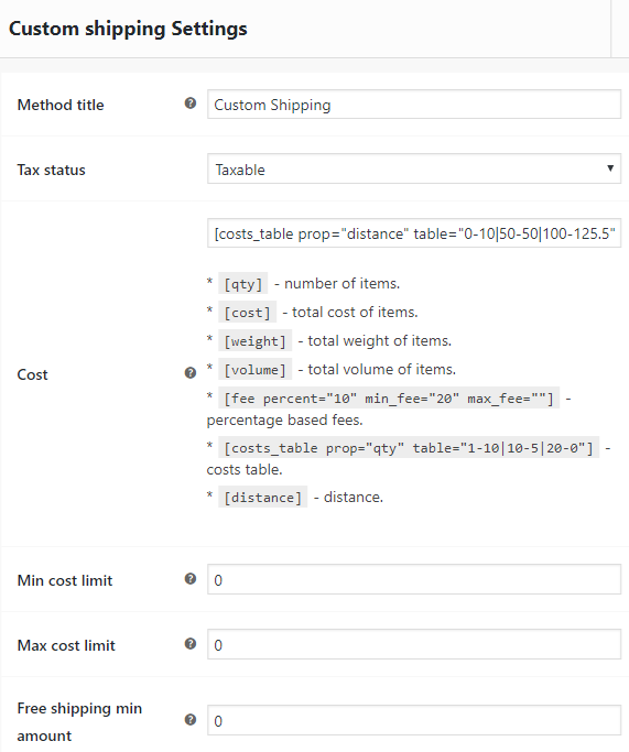 WooCommerce Distance Rate Shipping Plugins