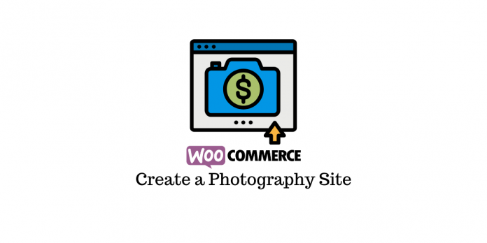 WooCommerce photography site