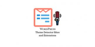 WordPress Theme Detector Sites