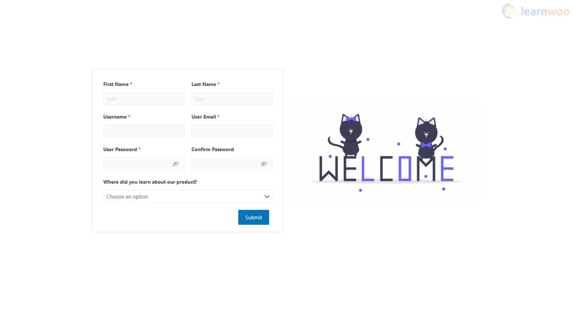 Customize WordPress login and registration form