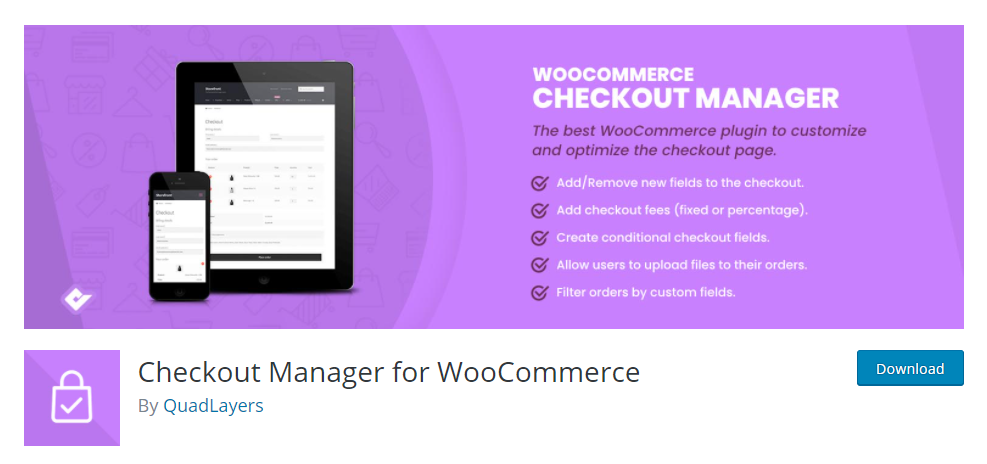 WooCommerce Checkout Manager Plugins