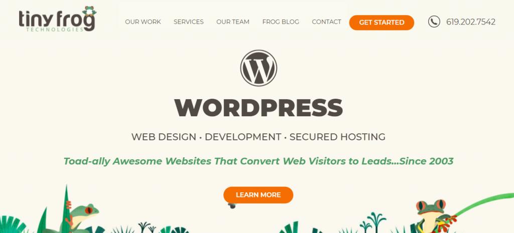 WordPress Web Development Companies
