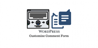 WordPress Comment Field