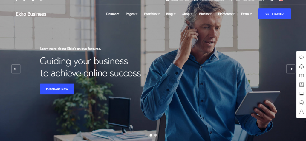 WordPress Themes for Business