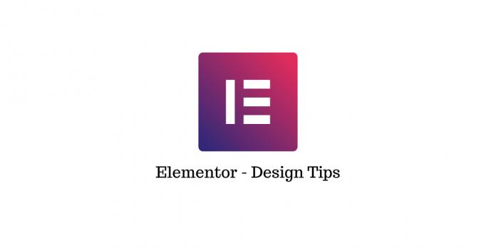 Web Development Using Elementor