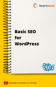 WordPress Basics eBook   Basic SEO for WordPress