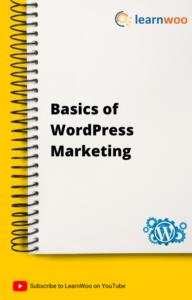 WordPress Basics eBook   Basics of WordPress Marketing