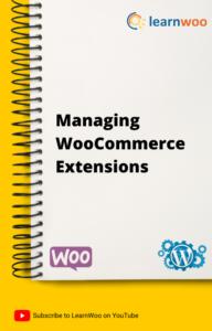 WordPress Basics eBook | Managing WooCommerce Extensions