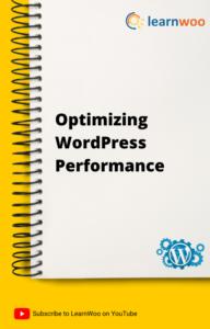 WordPress Basics eBook   Optimizing WordPress Performance