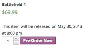 WooCommerce Pre-Orders   Provides an Option to Pre-Order