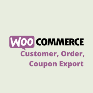 WooCommerce Customer, Order, Coupon Export | Product Image