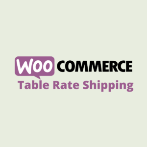 WooCommerce Table Rate Shipping | Product Image