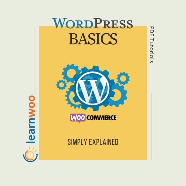 WordPress Basics eBook – Simply Explained (PDF Tutorials) | Product Image