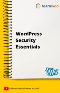 WordPress Basics eBook | WordPress Security Essentials