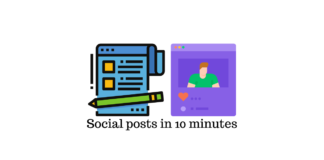 Social Posts in 10 Minutes