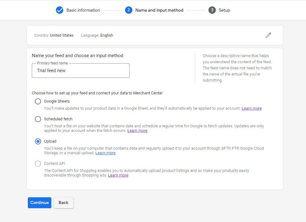 WooCommerce Products on Google Shopping - Upload option