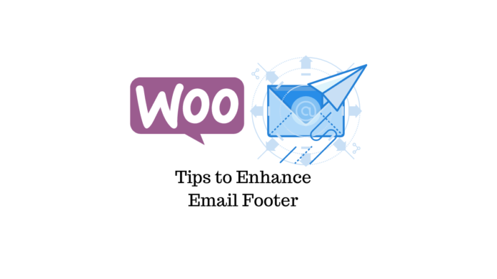 eCommerce Email Footer