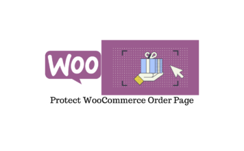 WooCommerce Order Page
