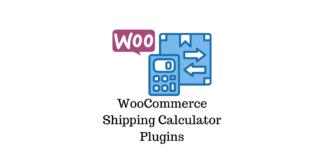 WooCommerce Shipping Calculator