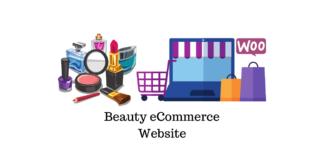 Beauty eCommerce Website