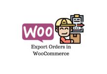 Export orders in WooCommerce