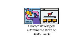 Custom developed eCommerce store