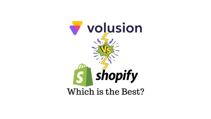 Volusion vs Shopify